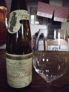 Tasting room at Domaine Weinbach